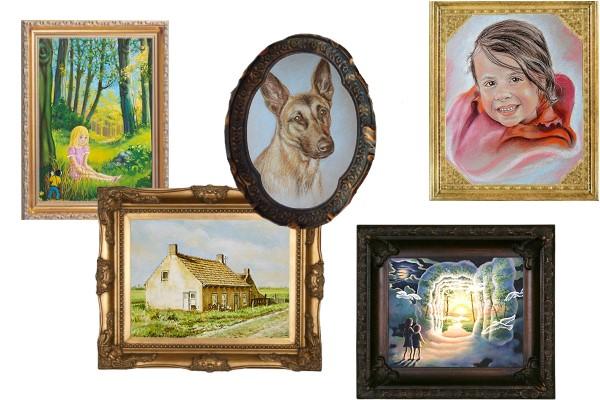 schilderijen-tekeningen